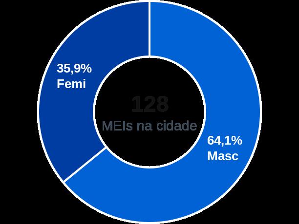 Gênero de MEIs na cidade de Formosa da Serra Negra