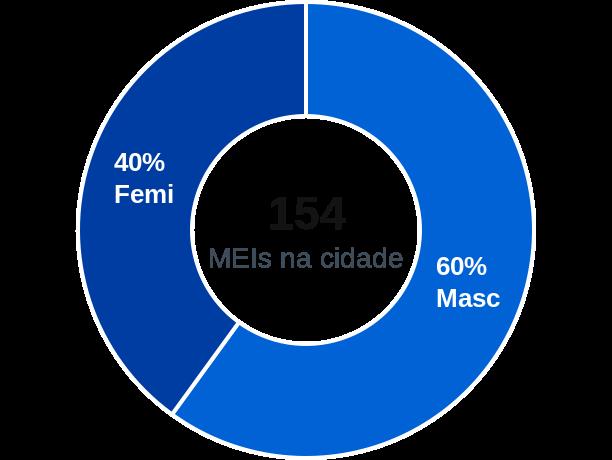 Gênero de MEIs na cidade de Figueirão