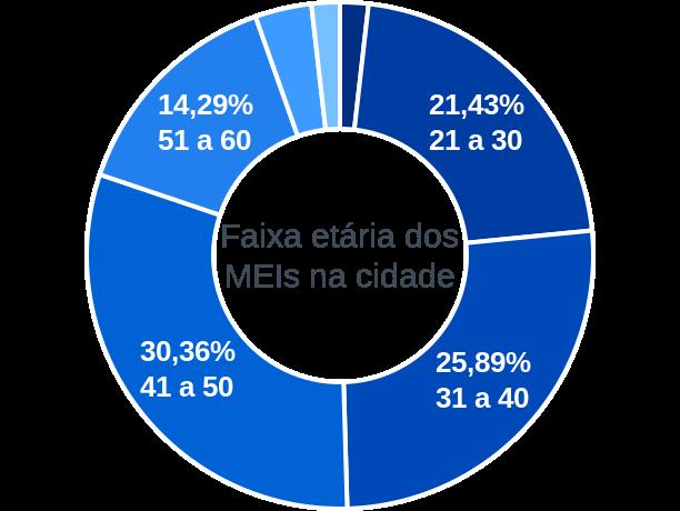 Faixa etária de MEIs na cidade de Belém do Brejo do Cruz