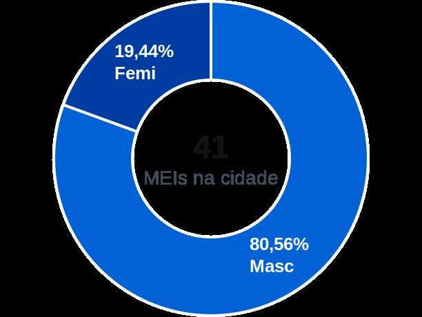 Gênero de MEIs na cidade de Massapê do Piauí