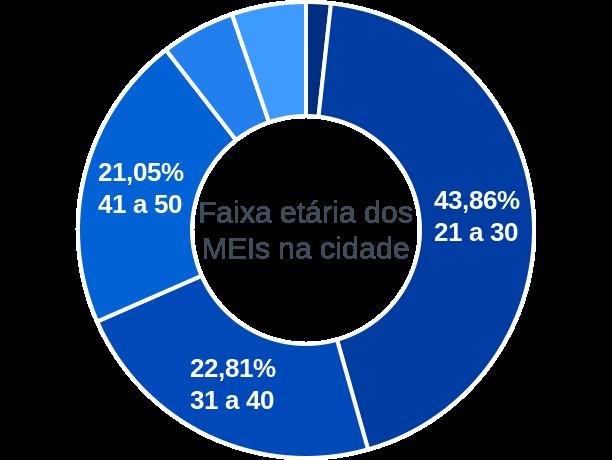 Faixa etária de MEIs na cidade de Tamboril do Piauí