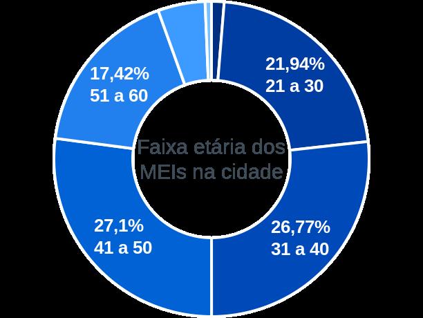 Faixa etária de MEIs na cidade de Figueira