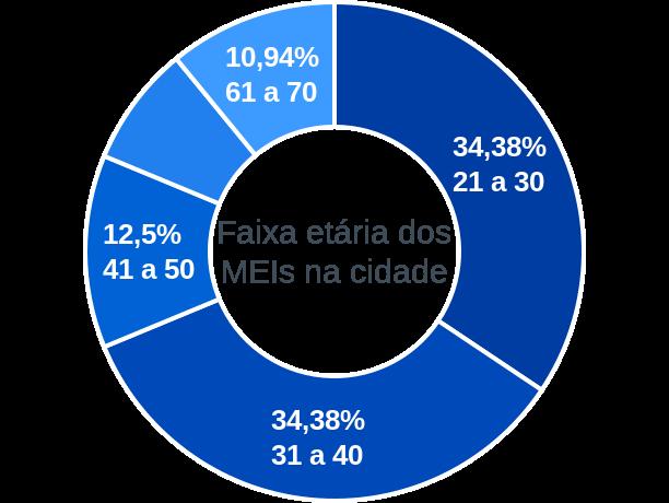 Faixa etária de MEIs na cidade de Forquetinha