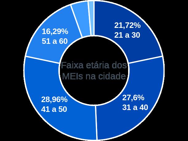 Faixa etária de MEIs na cidade de Figueirópolis